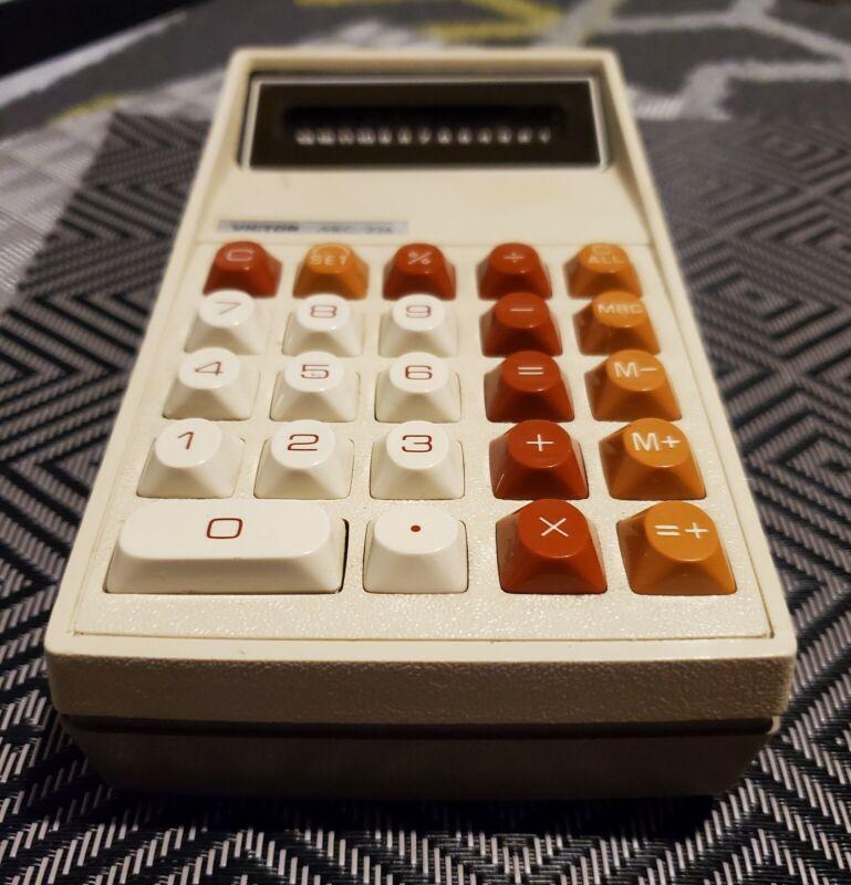 Victor MEC/226 Calculator VINTAGE Office Electronics