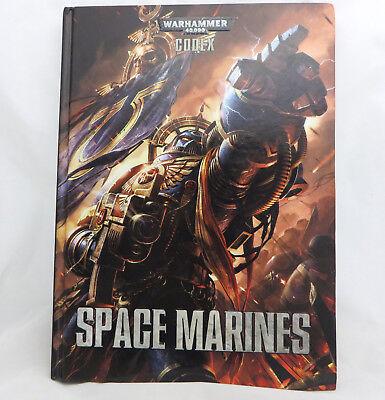 Warhammer 40k Space Marines  codex army book hardcover