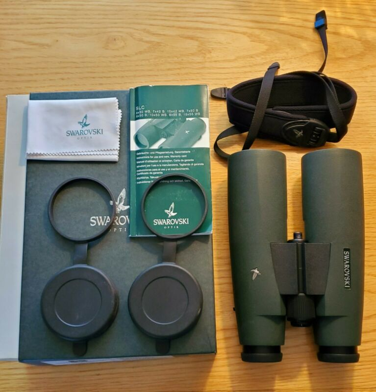 Swarovski SLC 15X56 NEU Binoculars With Box & Accessories