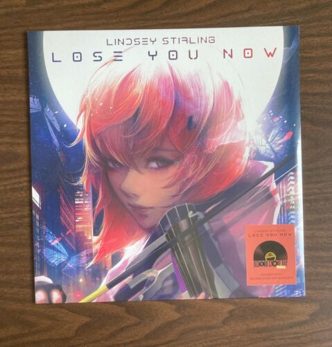 """LINDSEY STIRLING LOSE YOU NOW 12"""" VINYL NEW SEALED RSD 2021 ETCHED MAKO KIESZA"""