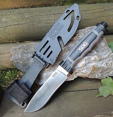 SOG Messer BLADELIGHT CAMP Messer Outdoormesser LED Lampe 8Cr13MoV Stahl