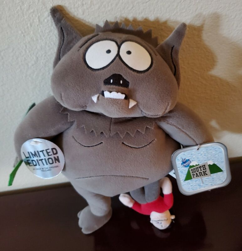 South Park Plush Limited Edition Scuzzlebutt With Tags RARE Excellent Condition