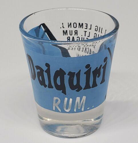 Buy COOL Daiquiri Rum Shot Glass w/Recipe 🥃🥃