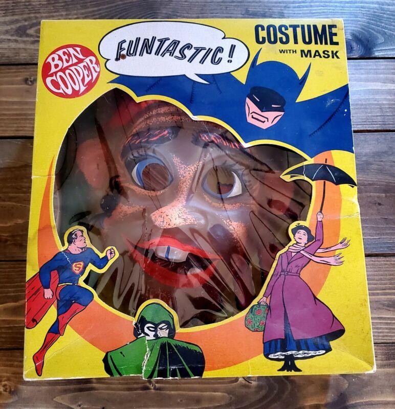 "1966 ""MR BUG-A-BOO"" Creepy Bugs BEN COOPER HALLOWEEN Complete In The BOX-Scarce"