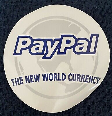Vintage 2003 eBay PayPal The New World Currency Mouse Pad--Unused