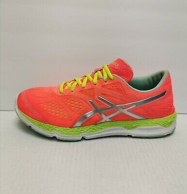 ASICS 33-FA Cross Training Running Shoes Women's Coral / Flash Yellow Sz 11 M(B)