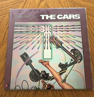 Heartbreak City THE CARS LP Album/ Extra Record Sleeve + Album Protective Sleeve