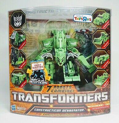 Transformers HFTD Devastator Legends Hunt Decepticons ROTF Revenge Fallen TRU