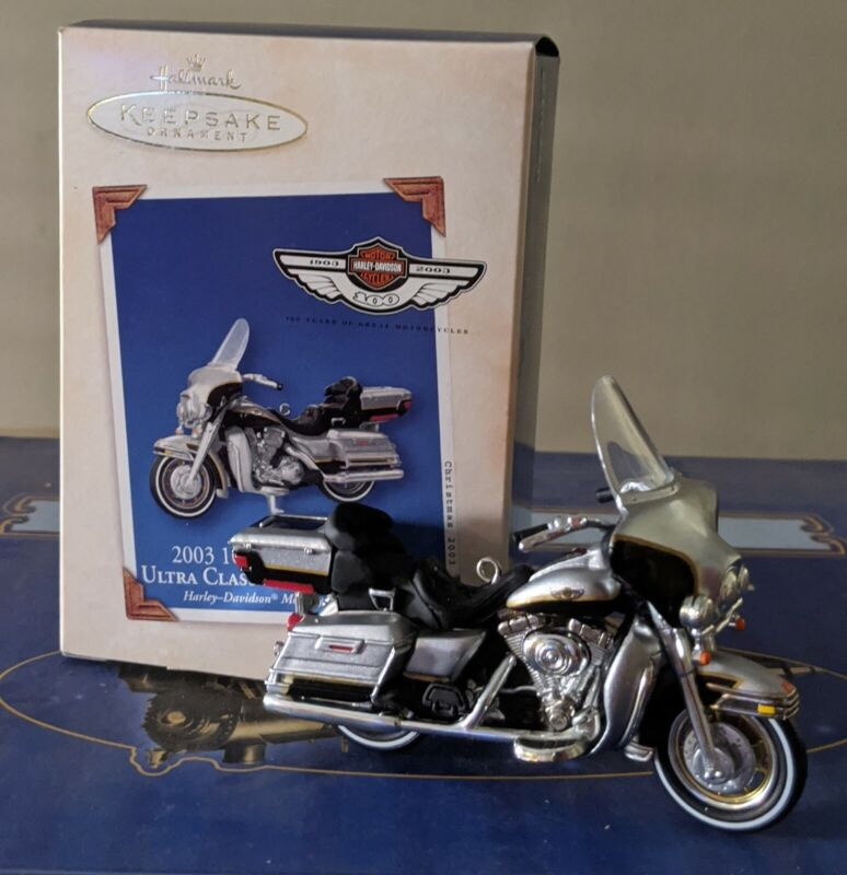 Keepsake 2003 100th Anniversary Harley Ultra Classic Electra Glide Ornament