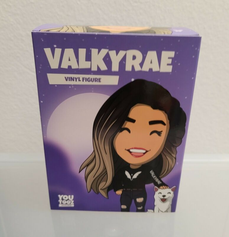 Youtooz Signed Valkyrae Vinyl Figure Limited Edition