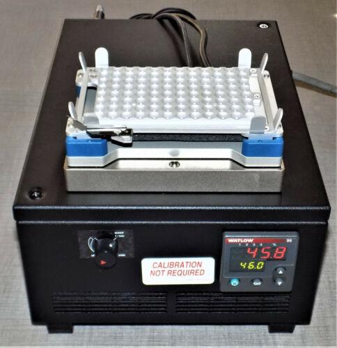 INHECO TELESHAKE 7100016 MICROPLATE HEATER SHAKER TEC CONTROL RS485 8900019