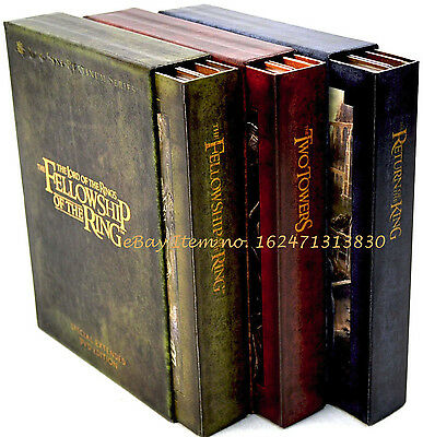 Lord Of The Rings Motion Picture Trilogy Special Extended Edition 12 Dvds 3 Sets