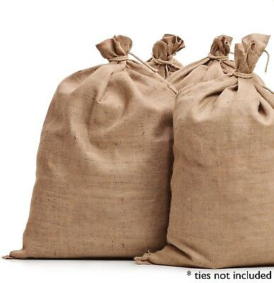 (50) 22x36 Burlap Bags Wholesale Bulk - Sacks Potato Race Sandbags Home Depot