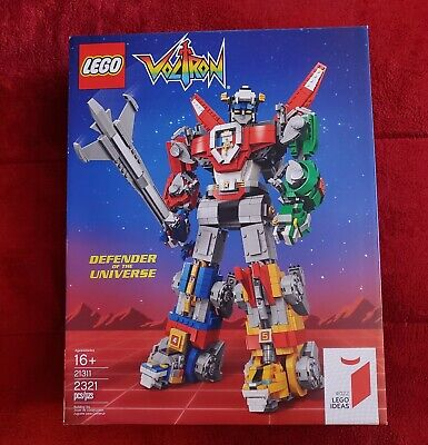 LEGO IDEAS Voltron Defender of the Universe Set 21311 New, Factory Sealed!