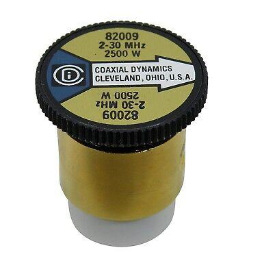 2500H Wattmeter Element Slug 2500W 2.5kW 2-30 MHz Bird 43 Coaxial Dynam 82009
