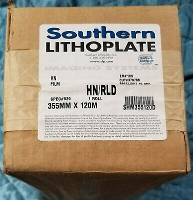 Hnrld Imagesetting Film 355mm X 120m 829 Southern Lithoplate