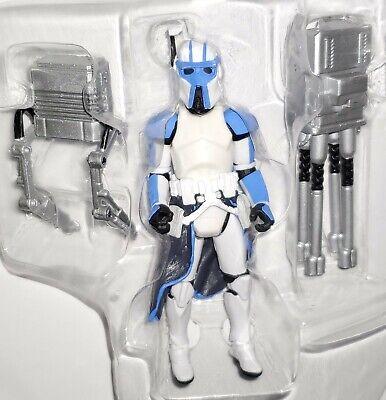 "Star Wars CLONE ARF TROOPER 3.75"" Figure BD16 501st Legion Cip-Quad AT-RT Cannon"