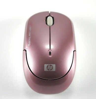 HP Wireless Mobile Mouse Precision Laser Tracking, Pink - Wireless Laser Mobile Mouse