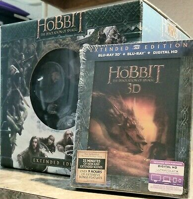 The Hobbit - The Desolation of Smaug Extended Edition Blu-ray 3D And