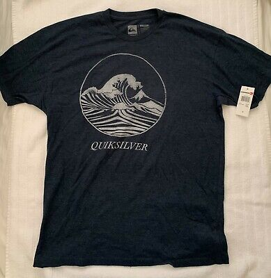 QUIKSILVER SHIRT BLUE SIZE X-LARGE XL NEW WITH TAGS NWT