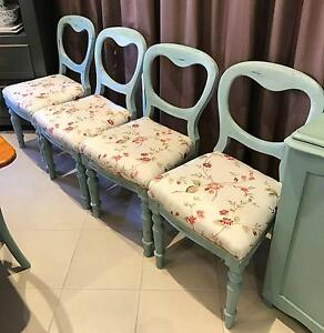 French Provincial Style Dining Chairs Edwardstown Marion Area Preview