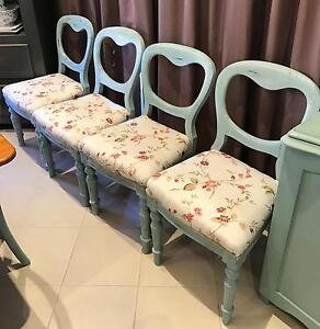Two only - French Provincial Style Dining Chairs Edwardstown Marion Area Preview