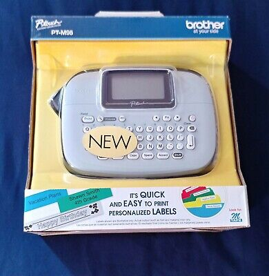 Brother P-touch Pt-m95 Electronic Label Maker Personalized Quick Easy