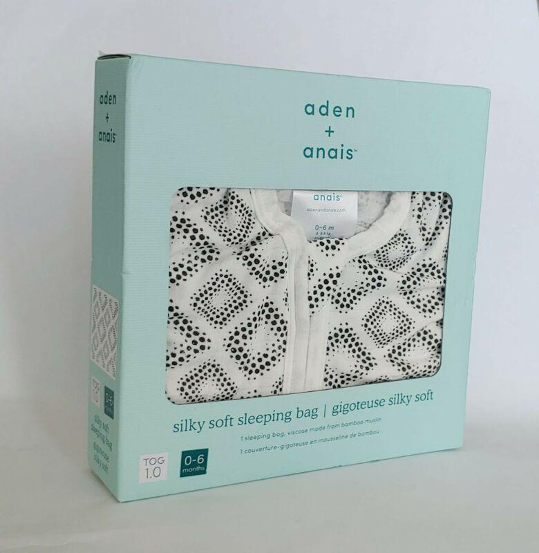 Aden + Anais Sleeping Bag 0-6 Month TOG 1.0 Light Silky Soft Bamboo Muslin NEW