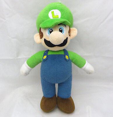 Super Mario 10 inches 2010 Nintendo green cap L Luigi