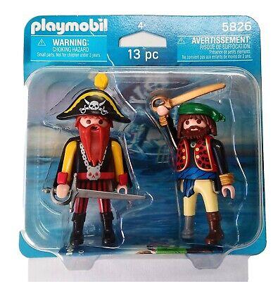 Blister 5826 Duo Pack Piratas Corsario Bucanero Barco Soldado History Knights
