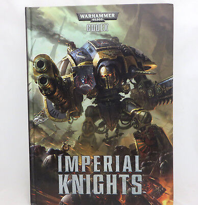 Warhammer 40k Space Marines Imperial knights codex army book hardcover