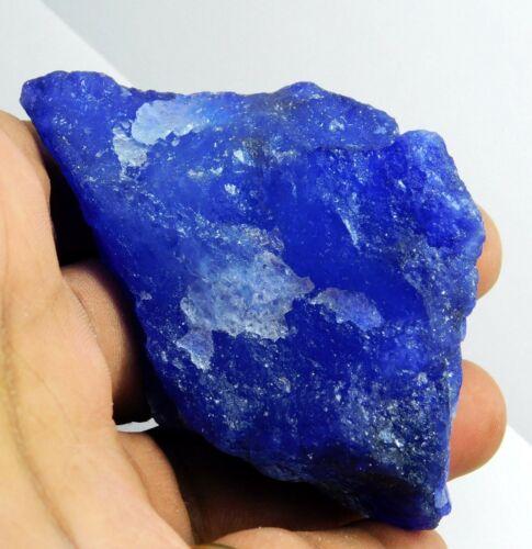 538.75 Ct Purple Tanzanite Rough Blue Beautiful  AAA Loose Gemstone