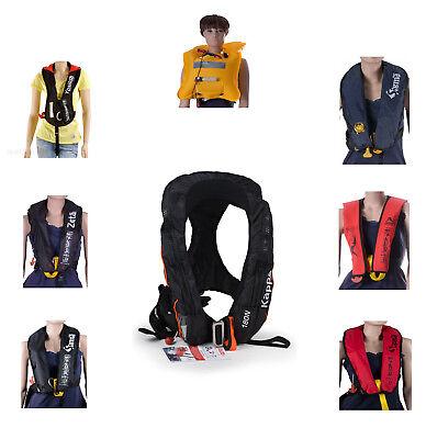 automatische Rettungsweste ISO Schwimmweste Kinder Lifejacket aufblasbar
