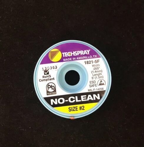No-Clean Solder Wick - #1 - 5