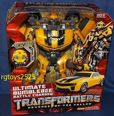 Transformers Ultimate Bumblebee Battle Charged New Revenge of the Fallen (Transformers The Ultimate Battle)