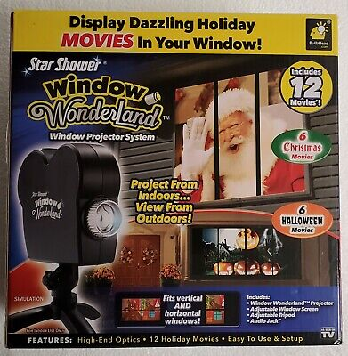 Window Wonderland Projector Star Shower Window Display Christmas Halloween](Halloween Displays 2017)