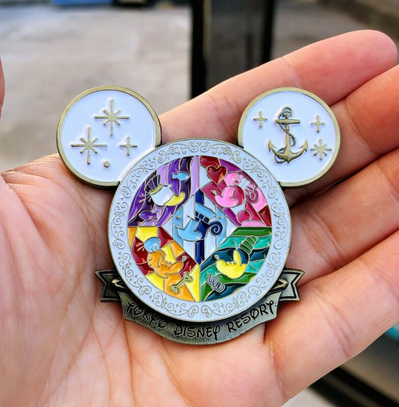 White Limited Edition Tokyo Disney Resort Coin, Japan Travel Sourvenir