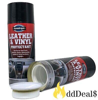 AutoBright Leather & Vinyl Protectant Diversion Stash Can Safe 10 oz *NEW*