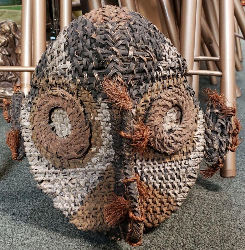 Mid 20th Century Sepik River Region Gable Mask from Papua New Guinea