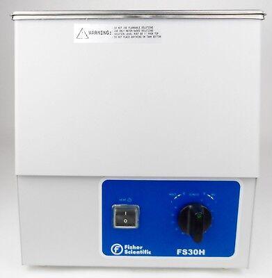 Fisher Scientific Heated Ultrasonic Cleaner Model Fs30h