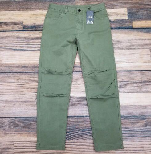 Mountain Hardwear Men's 32x32 Cederberg Pants Green Stretch