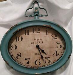 Decorative clock antique de paris 1887 wall clock