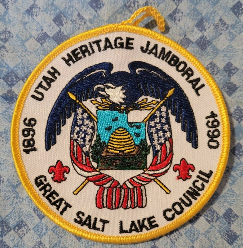 Great Salt Lake Council Utah Heritage Jamboral Pocket Patch
