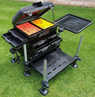 Preston Innovations X6S Seat Box with Accessories