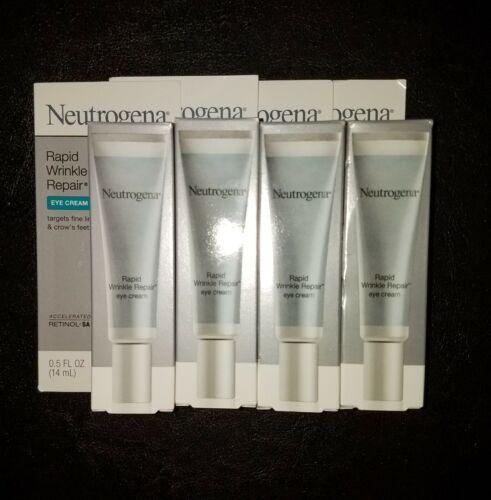 4 Neutrogena Rapid Wrinkle Repair Eye Cream w/Retinol  - NIB