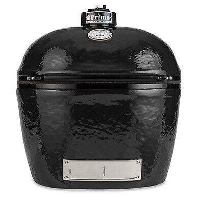 Primo XL400 BBQ Smoker Bake Grill Ceramic Lump Coal Outdoor Cooking ()