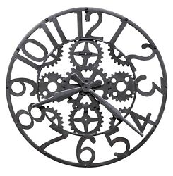 HOWARD MILLER - 625-698 GALLERY   WALL CLOCK    IRON WORKS  625698