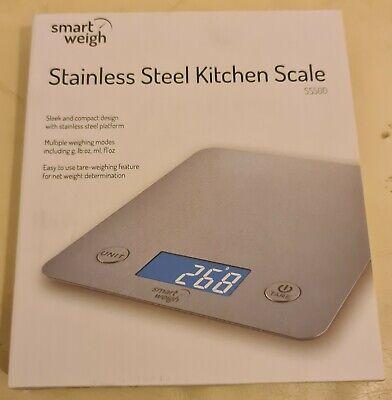 Insten 1968057 Digital Kitchen Scale 1-5000g - Silver