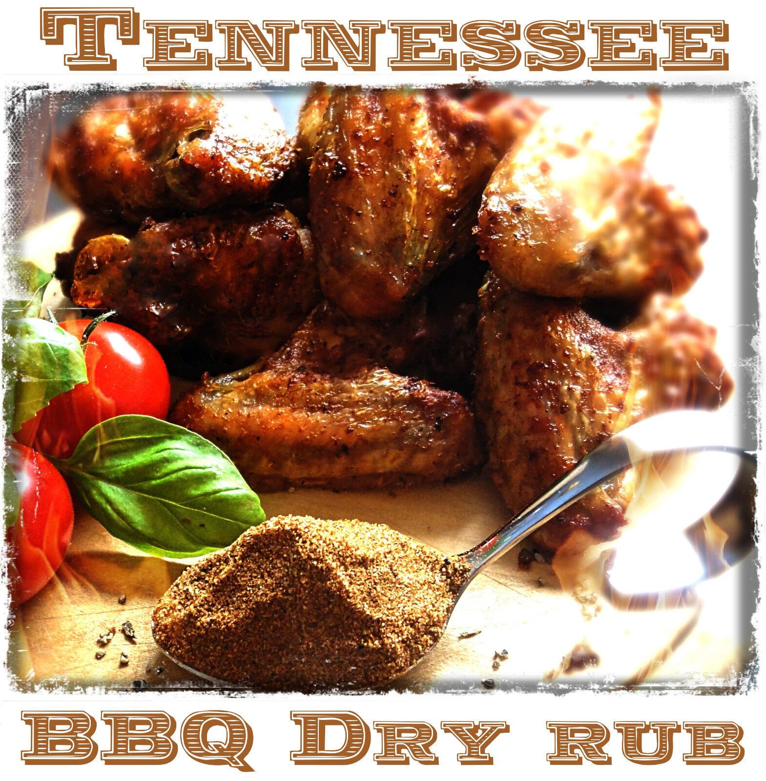 500g Tennessee Memphis BBQ Rub Grill Gewürz Barbecue Smoker Schwein Geflügel