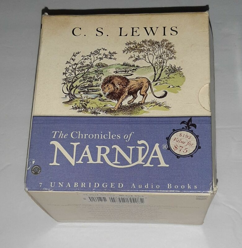 Unabridged Audio Book Chronicles of Narnia C. S. Lewis 2004 Lion Witch Wardrobe